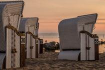 Strandkörbe am Stettiner Haff by René Lang