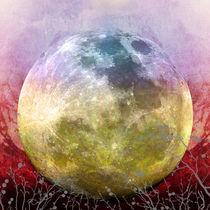 MOON under MAGIC SKY III-1 von Pia Schneider