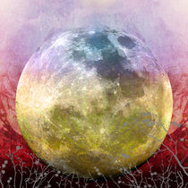 MOON under MAGIC SKY III-1 by Pia Schneider