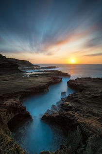 Sunrise over Oahu von Sabrina Koehler