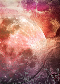 MOON under MAGIC SKY IV-2a by Pia Schneider