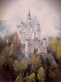 Schloss in den Wolken / Castle in the Clouds. by Apostolescu  Sorin