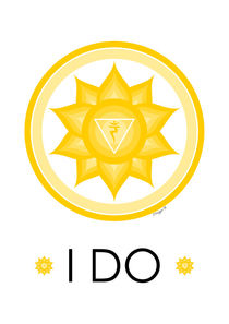 Solar Plexus Chakra - Yoga Meditation Design by Maggie B. Design