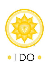 Solar Plexus Chakra - Yoga Meditation Design von Maggie B. Design