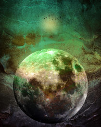 MOON under MAGIC SKY V by Pia Schneider