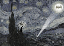 Starry night batman von Print Point