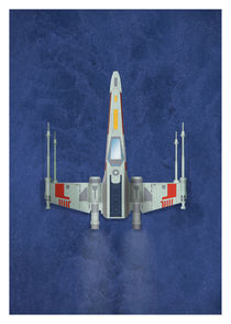 X-Wing Fighter by Print Point