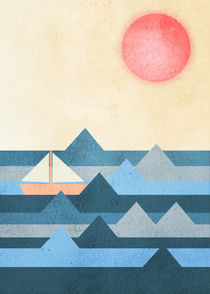 Calm sea von Print Point