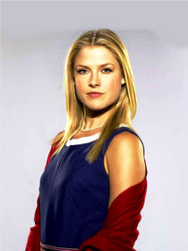Ali Larter oil paint by dcpicture