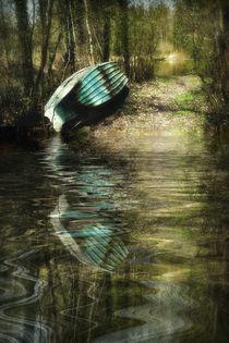 spring awakening -Frühlingserwachen im Auwald  von Chris Berger