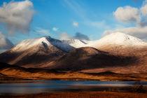 Rannoch Moor Scotland by Gillian Sweeney