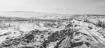 Winter roads  by Enache Armand Iustinian