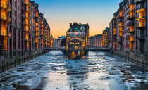 Winter in Hamburg von Michael Abid