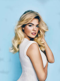 Kate upton oil paint by dcpicture