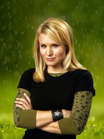 Kristen Bell oil paint by dcpicture