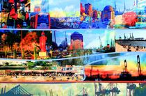 Hamburg.Elbe/Collage