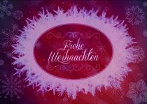 Grußkarte - Frohe Weihnachten by Anna-Lena London