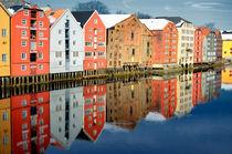 Kontorhäuser in Trondheim by Iris Heuer