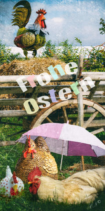 Frohe Ostern - Happy Easter by Chris Berger