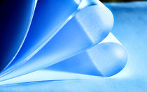 Blue Paper by ahrt-photography