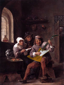 Flying V - circa 1642  by Sammy Slabbinck