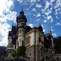 Famous royal castle Peles in Sinaia, Romania. by ambasador