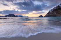 Lofoten beach von Christine Büchler