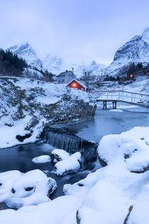 Lofoten winter by Christine Büchler