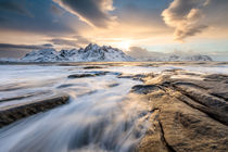 Lofoten coastline by Christine Büchler