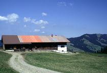 Bergbauernhof im Allgäu von fischbeck