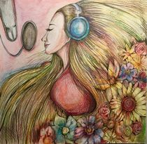The beauty of Music 1 by Myungja Anna Koh