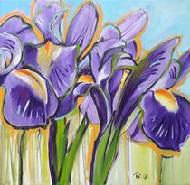Iris, Lilien von Antje Püpke