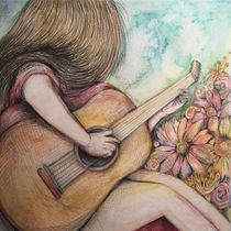 The beauty of Music 2 by Myungja Anna Koh