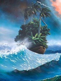 Coconut Island by Esteban Machado
