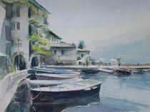 Hafen Limone, Gardasee von Matthias Kriesel