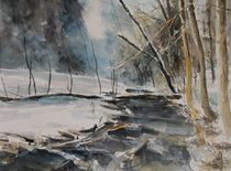 Winter bei Ruppertsgrün von Matthias Kriesel