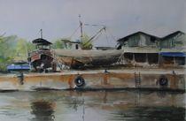 Hafen von Cienfuegos, Kuba von Matthias Kriesel