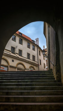 Radnicke stairs in Prague von Tomas Gregor