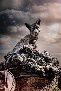 The Fox Sculpture von Colin Metcalf