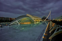 Valencia Science City Dusk by Rob Hawkins
