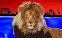 Löwe in der Safari von Armando Russo