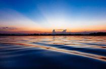 Blue Lagoon Sunrise - Cuyabeno River Amazon by Christian Solf