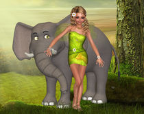 Elfe der Elefanten von Conny Dambach