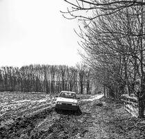 Dirty roads  by Enache Armand Iustinian