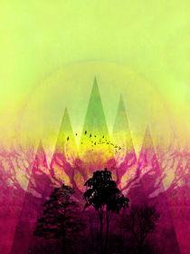 TREES under MAGIC MOUNTAINS V-2c-HF von Pia Schneider