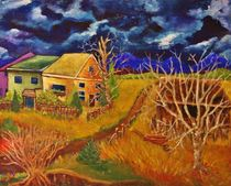 Three Cottages by Chaline Ouellet