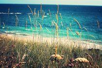 Strand in der Bretagne von Birgit Wagner