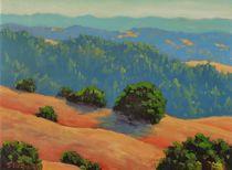 Distant Hills by Steven Guy Bilodeau