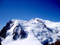 Mont Blanc mountain massif by ambasador