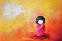 Kokeshi by Evelin Boemeke